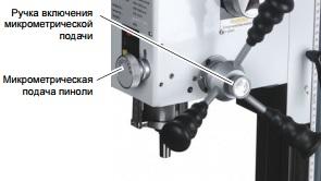 Микрометрическая подача BF20Vario
